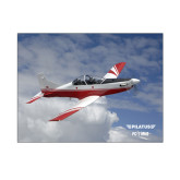 8 x 10 Photographic Print-PC-7 MKII Over Clouds
