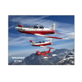 8 x 10 Photographic Print-PC-7 MKII 3 Aircrafts