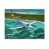 8 x 10 Photographic Print-PC-12 NG Island Shore