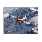 11 x 14 Photographic Print-PC-6 Over Snowy Cliff