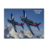 11 x 14 Photographic Print-PC-7 MKIIs over Snow Cliffs