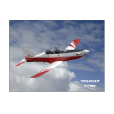 11 x 14 Photographic Print-PC-7 MKII Over Clouds