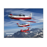 11 x 14 Photographic Print-PC-7 MKII 3 Aircrafts