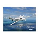 11 x 14 Photographic Print-PC-12 NG Ocean View