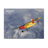 11 x 14 Photographic Print-PC-6 Over Snowy Mountains