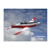 11 x 17 Photographic Print-PC-7 MKII Over Clouds