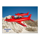 15 x 20 Photographic Print-PC-21 2 Aircrafts Over Snow Cliffs