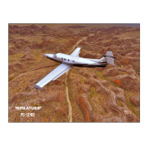 15 x 20 Photographic Print-PC-12 NG Over Brown Fold Mtns