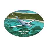 Medium Decal-PC-12 NG Island Shore