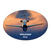 Large Decal-PC-24 Sunset On Clouds