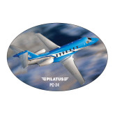Large Decal-PC-24 On Top of Clouds