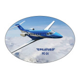 Large Decal-PC-24 Over Snowy Mtns