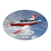 Large Decal-PC-7 MKII Over Clouds