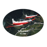 Large Decal-PC-7 MKII 2 Aircrafts Over Green Terrain
