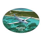 Large Decal-PC-12 NG Island Shore