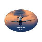 Small Decal-PC-24 Sunset On Clouds