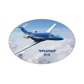 Small Decal-PC-24 Over Snowy Mtns