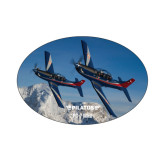 Small Decal-PC-7 MKIIs over Snow Cliffs