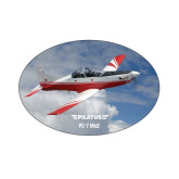Small Decal-PC-7 MKII Over Clouds