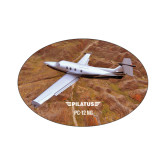 Small Decal-PC-12 NG Over Brown Fold Mtns