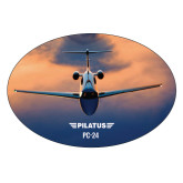 Extra Large Decal-PC-24 Sunset On Clouds