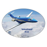 Extra Large Decal-PC-24 Over Snowy Mtns