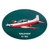Extra Large Decal-PC-7 MKII Over Water