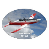 Extra Large Decal-PC-7 MKII Over Clouds