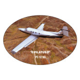 Extra Large Decal-PC-12 NG Over Brown Fold Mtns