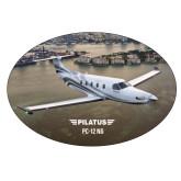 Extra Large Decal-PC-12 NG City Lake View
