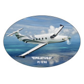 Extra Large Decal-PC-12 NG Ocean View