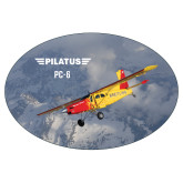 Super Large Decal-PC-6 Over Snowy Mountains