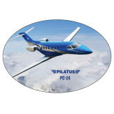 Super Large Decal-PC-24 Over Snowy Mtns