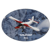Super Large Decal-PC-6 Over Snowy Cliff