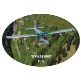 Super Large Decal-PC-6 Over Green Terrain