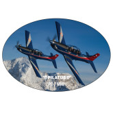 Super Large Decal-PC-7 MKIIs over Snow Cliffs