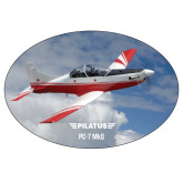 Super Large Decal-PC-7 MKII Over Clouds