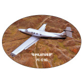 Super Large Decal-PC-12 NG Over Brown Fold Mtns