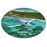 Super Large Decal-PC-12 NG Island Shore