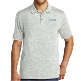 Silver Electric Heather Polo-Pilatus