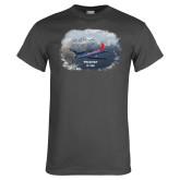 Charcoal T Shirt-PC-7 MKII Rocky Terrain