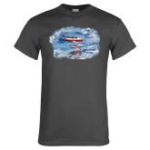 Charcoal T Shirt-PC-7 MKII 3 Aircrafts