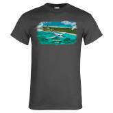 Charcoal T Shirt-PC-12 NG Island Shore