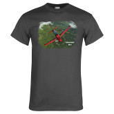Charcoal T Shirt-PC-21 Green Terrain