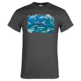 Charcoal T Shirt-PC-24 Ocean View