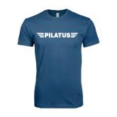 Next Level SoftStyle Indigo Blue T Shirt-