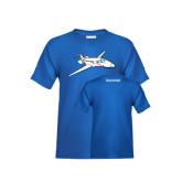 Youth Royal T Shirt-PC-24