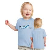 Toddler Light Blue T Shirt-PC-12 Illustration
