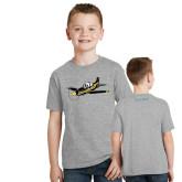 Youth Grey T-Shirt-PC-9 Illustration