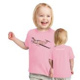 Toddler Pink T Shirt-PC-12 Pink